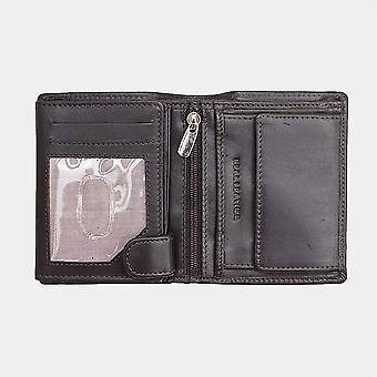 Primehide Mens Leather Wallet RFID Bloqueando Gents Notecase 5003