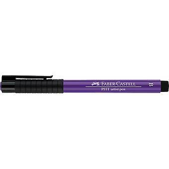 Faber Castell Indian Ink Artist Pen Brush 136 Purple Violet