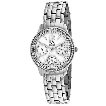 Rb0840, Roberto Bianci Women'S Valentini - White Mother Of Pearl Watch