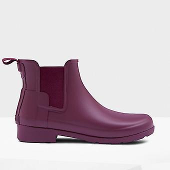 Hunter Original Refined Chelsea Ladies Rubber Ankle Boots Ballard