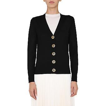 Tory Burch 64676001 Women's Black Wool Cardigan