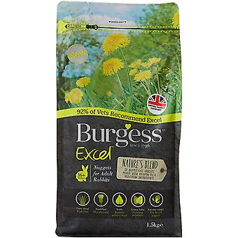 Excel Rabbit Nature-apos;s Blend Nuggets - 1.5kg