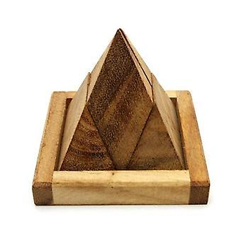Pyramid Puzzle 4 Pcs