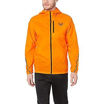 Peak Velocity Men's Emergency Full-Zip Water Resistant Athletic-Fit Jacket, U...