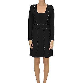 Nenette Ezgl266156 Femmes's Robe Viscose Noire