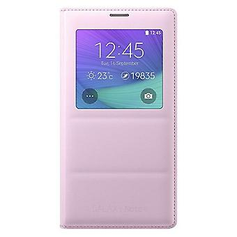 Samsung S-View Case für N910F Galaxy Note 4 Pink (EU Blister)