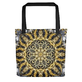 Small Tote Bag | Gold Mandala