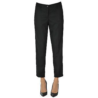 White Sand Ezgl429013 Women's Black Polyester Pants