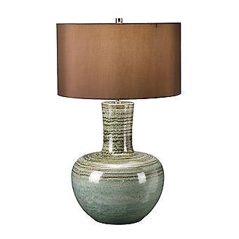 1 Lampe de table légère verte, E27
