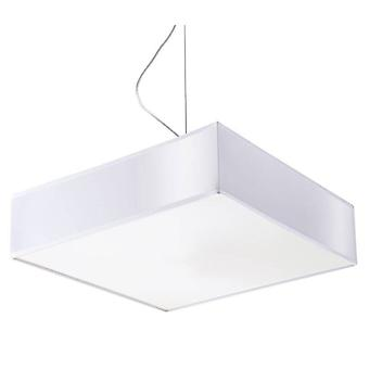 2 Light Ceiling Pendant White, E27