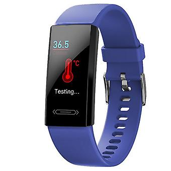 Activity bracelet with USB charging - Blue