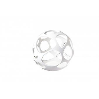 Mantra 5146 Organica Table Lamp 3 Light E27, Gloss White/polished Chrome