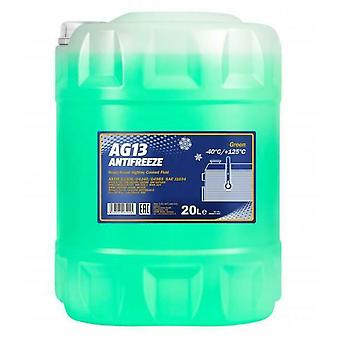 Mannol AG13 -40 Ready to Use Antifreeze Coolant 20L