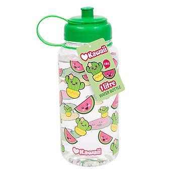 Kawaii Wassermelone & Kaktus 1 Ltr Flasche