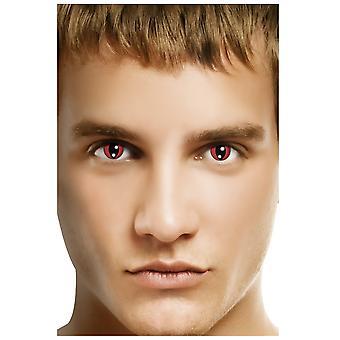 Spezial-Kontaktlinsen Rote Katzenlinsen