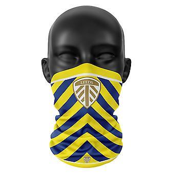 Leeds United FC Farben Snood Gesicht Maske Schal Fußball Club Buff Kopfbedeckung Tube