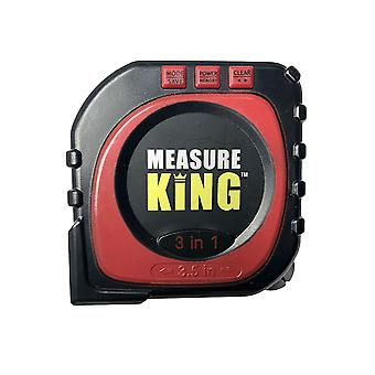Roll Over Laser Tape Measure 2-in-1