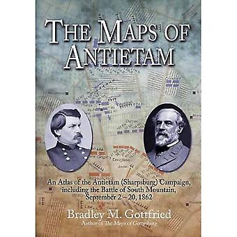The Maps Of Antietam: An Atlas of the�Antietam�(Sharpsburg) Campaign,�including the Battle of South Mountain,�September 220, 1862