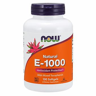 Now Foods E-1000 - 100% Natural Mixed Tocopherols, 100 SOFTGELS