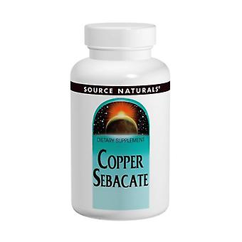 Lähde Naturals Copper Sebacate, 22 MG, 120 Tabs