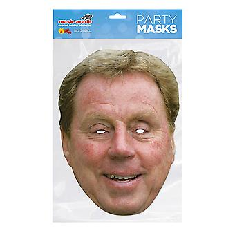 Mask-arade Harry Redknapp Party Mask