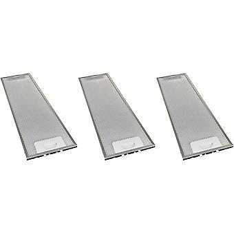 3 x universell komfyr hette metall fett filter 165mm x 524mm