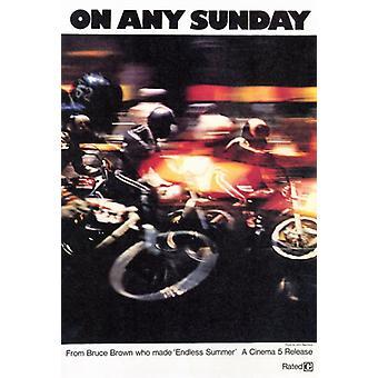 On Any Sunday Movie Poster Print (27 x 40)