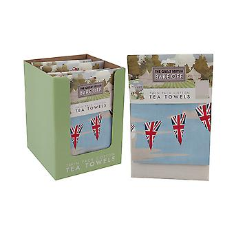 Great British Bake Off Tea Towels x 2 1AS/017