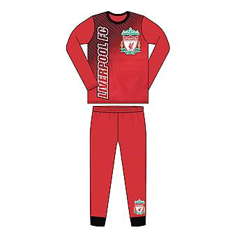 Liverpool FC Sublimation Print Junior Kids Football Soccer Pyjamas Red