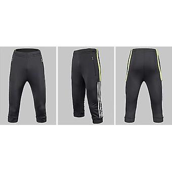 Pantaloni da allenamento da calcio maschile con tasca con zip