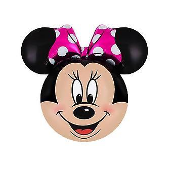 العملاق ميكي، ميني ماوس تصميم احباط بالون للزينة حفلة عيد ميلاد