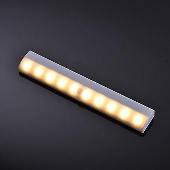 Infrared Motion Pir Sensor Closet Night Light Lamp Induction Wardrobe Motion