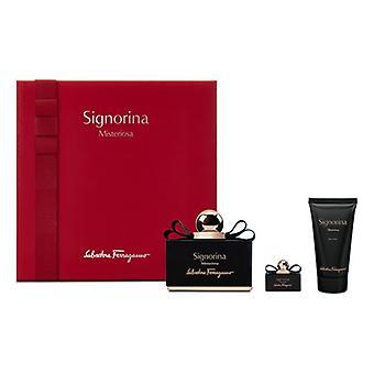 Women's Perfume Set Signorina Misteriosa Salvatore Ferragamo EDP (3 pcs) (3 pcs)