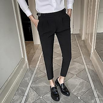 Wedding Dress/men Business Suit Pant, Casual Slim Fit Formal Pants