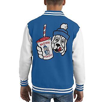 Slush Puppie Retro Cup Logo Kid's Varsity Jacket