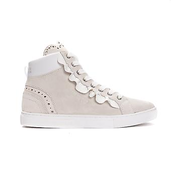 Bianco High White Sneakers
