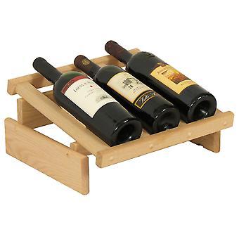 Display in legno Mallet 3 Bottle Dakota Wine, incompiuto