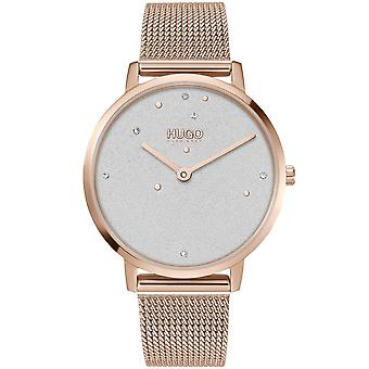 HUGO Hugo 1540067 Dream Light Gold And White Ladies Watch