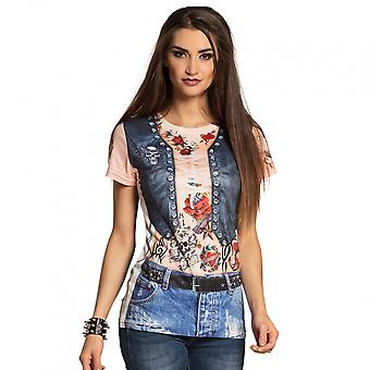 Shirt Cyclist Babe Ladies Polyester Bt425115