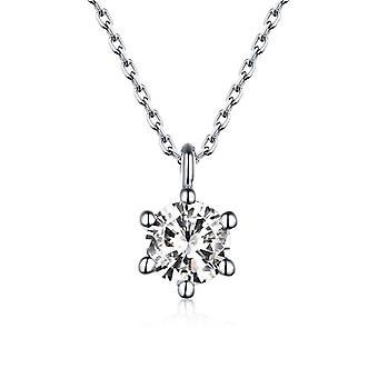 Silver Diamond hänge med punk kedja halsband
