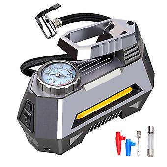 Portable Air Compressor Tire Inflator Pump With Digital Pressure Gauge & Bright