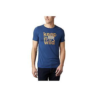 Columbia Terra Vale II 1888843469 universel toute l'année hommes t-shirt