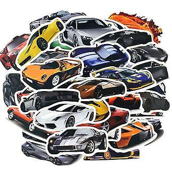 50x klistermærker og klistermærker - Biler