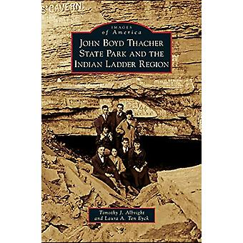 John Boyd Thacher State Park and the Indian Ladder Region by Timothy