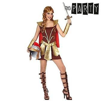 Costume for adults female gladiator