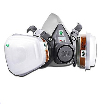 Half Face Respirator Industry Dust Mask With Filter