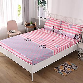 Waterproof Printing Fitted Bed Sheet Soft Comfortable Bed Mattress Protective
