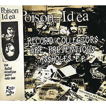 Poison Idea - Fatal Erection Years [CD] USA import