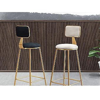 Luksus Pensjonater Bar Chair, Enkel Fashion Bar Chair, Høy Stand, Internett Bar Bench