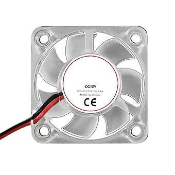 1 Pcs 12v 2510 3010 4010 cooling fan quiet radiator extruder bearing for 3d printer parts